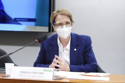 MINISTRA DA AGRICULTURA PEDE APROVAÇÃO RÁPIDA DE LEI DE REGULARIZAÇÃO FUNDIÁRIA